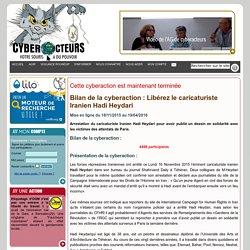 bilan de la pétition Libérez le caricaturiste Iranien Hadi Heydari