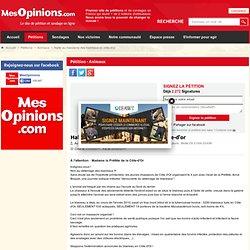 Halte au massacre des blaireaux en côte-d'or