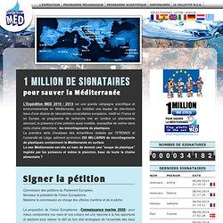 Pétition 1 MILLION DE CLICS POUR SAUVER LA MÉDITERRANÉE