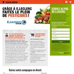 Signez la pétition pour que E. Leclerc mette fin à ses pratiques obscures !