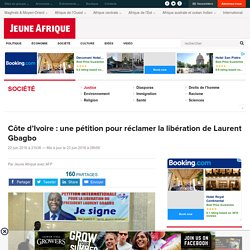 Côte d'Ivoire : une pétition pour réclamer la libération de Laurent Gbagbo