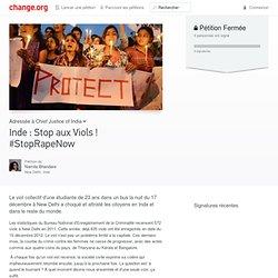 INDE Stop aux viols