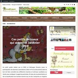 Ces petits Animaux qui aident le Jardinier – PDF