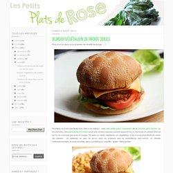 Les petits plats de Rose: Burger végétalien de patate douce