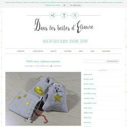 Petits sacs cadeaux express - Dans les boîtes d'Eliaure...