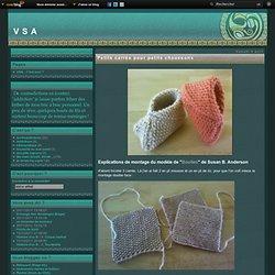 Petits carrés pour petits chaussons - VSA