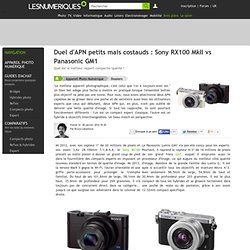 Duel d'APN petits mais costauds : Sony RX100 MkII vs Panasonic GM1