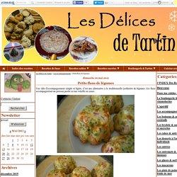 Petits flans de légumes - Les Délices de Tartin