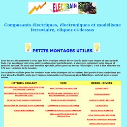 PETITS MONTAGES UTILES