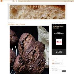 Le Pétrin: Petits Pains Cacao & Chocolat