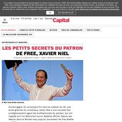 Les petits secrets du patron de Free, Xavier Niel