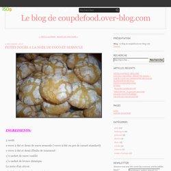 PETITS FOURS A LA NOIX DE COCO ET SEMOULE - Le blog de coupdefood.over-blog.com