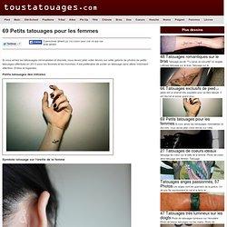 69 Petits tatouages pour les femmes