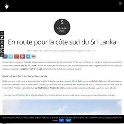 En route pour la côte sud du Sri Lanka - Petits Voyageurs