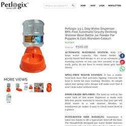 Buy Petlogix Dog Water Dispenser online