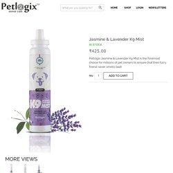 Buy Petlogix Jasmine & Lavender K9 Mist online