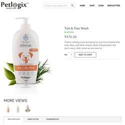 Buy Petlogix Tick & Flea Wash shampoo online