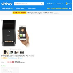 Petnet SmartFeeder Automatic Pet Feeder - Chewy.com