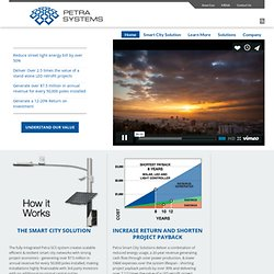 Petra Solar® - Intelligent Energy By Design - Home Page - (Build