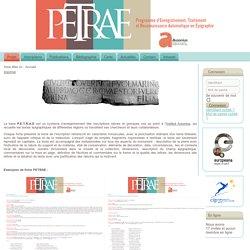PETRAE - Présentation