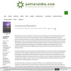 La teniente Remedios - Petreraldia.com - Noticias de actualidad de Petrer y su comarca