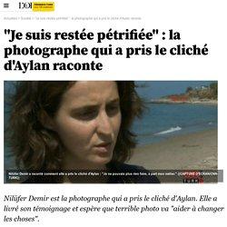 """""""Je suis restée pétrifiée"""" : la photographe qui a pris le cliché d'Aylan raconte - 3 septembre 2015"""