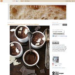 Petits Pots de Crème Chocolat, Lait de Coco & Rhum