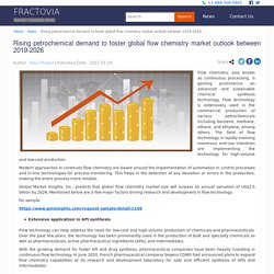Rising petrochemical demand to foster global flow chemistry market outlook between 2019-2026 - Fractovia.org