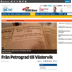 Från Petrograd till Västervik - Ledare