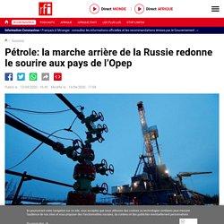 Pétrole: la marche arrière de la Russie redonne le sourire aux pays de l'Opep