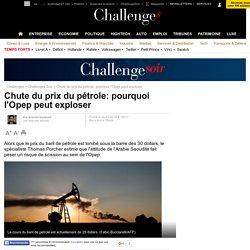 Chute du prix du pétrole: pourquoi l'Opep peut exploser