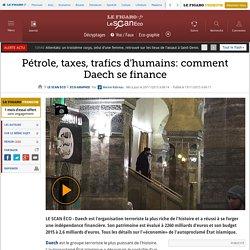 Pétrole, taxes, trafics d'humains: comment Daech se finance