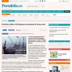 Petróleo hoy 4 septiembre 2015