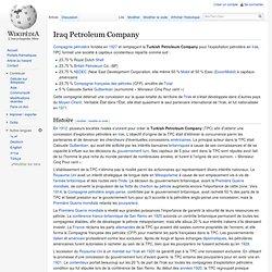 Iraq Petroleum Company