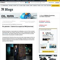 Pic pétrolier : l'alerte d'un expert du FMI [interview]