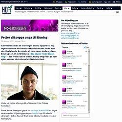 Petter vill peppa unga till läsning – Nöjesbloggen