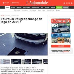 Peugeot change de logo en 2021 - L'Automobile Magazine