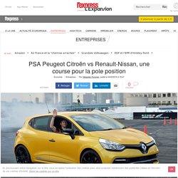 PSA Peugeot Citroën vs Renault-Nissan, une course pour la pole position