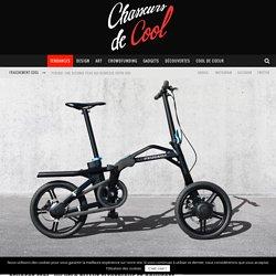 Peugeot ef01 : un vélo pliant électrique et connecté