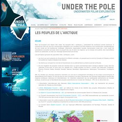 LES PEUPLES DE L'ARCTIQUE - Under The Pole