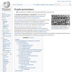 Peuples germaniques