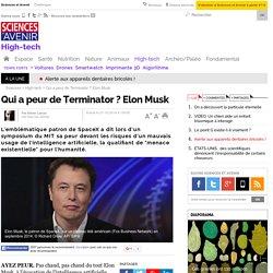 Qui a peur de Terminator ? Elon Musk