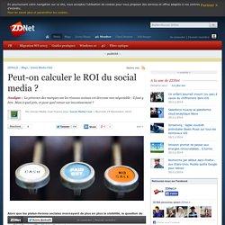 Peut-on calculer le ROI du social media ?