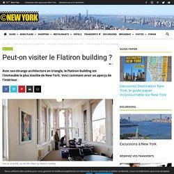 Peut-on visiter le Flatiron building ?
