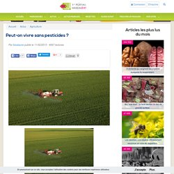 Peut-on vivre sans pesticides