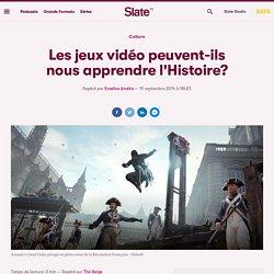 Les jeux vidéo peuvent-ils nous apprendre l'Histoire?