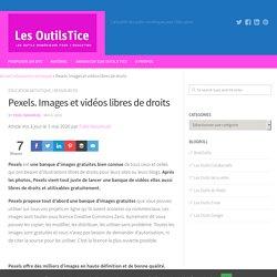 PEXELS : images et vidéos libres de droits
