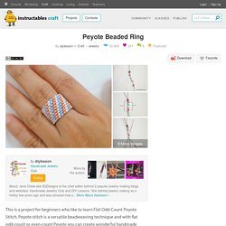 Peyote Beaded Ring : 7 Steps (with Pictures) - Instructables