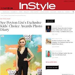 Peyton List's Kids' Choice Awards Photo Diary