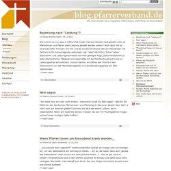 Die Internetseite für evangelische Pfarrerinnen und Pfarrer in Deutschland